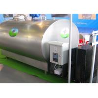 Wholesale Vertical / Horizonal Cooling Jacket Milk Tank For Storing Fresh Milk from china suppliers