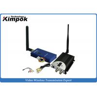 Wholesale 600MA 2.4Ghz Wireless Video Transmitter And Receiver With 2000m Long Range Video Sender from china suppliers