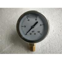 "Wholesale 2""( 50mm ) Stainlee Steel Bottom Entry Liquid Filled Pressure Gauge Filled With Glycerin from china suppliers"