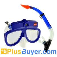 Wholesale Underwater Scuba Mask with DVR (Detachable, 1280x720, 8GB) from china suppliers