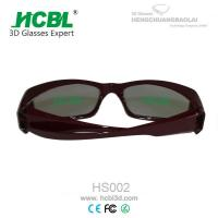 Wholesale Large Frame Master Image Stereoscopic 3D Glasses With 0.72 - 1.00mm TAC Filter Lens from china suppliers