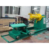 Wholesale Metal Sheet Double Head Uncoiler Machine , Hydraulic Color Steel Decoiler from china suppliers