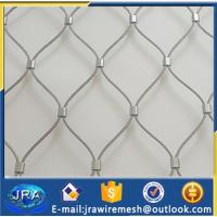 Buy cheap Real 316 Stainless steel wire rope mesh/cable mesh/anping manufacturer from wholesalers