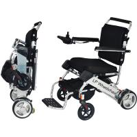 Wholesale Lightweight Handicapped Folding Electric Wheelchair from china suppliers