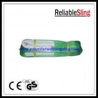 Wholesale High Strength Eye - eye Flat Webbing Sling for crane lifting 1-100 meters from china suppliers