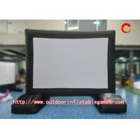 Wholesale Rear Projection Inflatable Tv Screen Double Stitching Logo Printing L3m X H5m from china suppliers