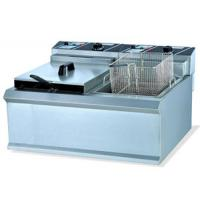 Wholesale 12L 220V - 240V 2 Basket Commercial Induction Fryer ISO9001 Approved from china suppliers