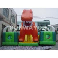 Wholesale Kids Inflatable Fun City With Giant Blow Up Slide For Inflatable Theme Park from china suppliers