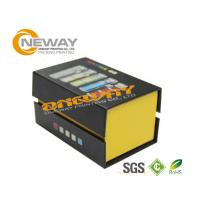Wholesale Grey Matt Paper Electronic Product Packaging Boxes 20 * 15 * 6cm from china suppliers