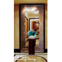 Wholesale 13mm Decorative Framed Mirror / Square Glass Mirror For Interior Decoration from china suppliers