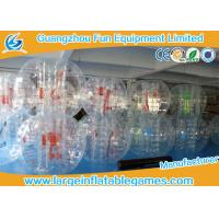 Wholesale TPU / PVC 1.8M Iinflatable bubble ball Human Sphere Hockey Ball Customized from china suppliers