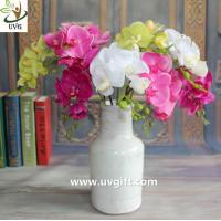 Wholesale UVG FOR40 Various cheap artificial flower with real touch PU orchid flowers for weddings from china suppliers