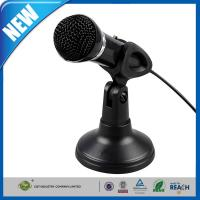 Wholesale Wired PC Computer Microphones Black Stereo For Noise Canceling from china suppliers