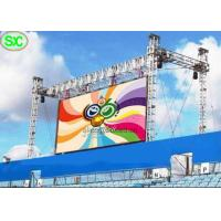 Wholesale Wireless Programmable Full Color Led Screen For Advertising Outdoor , Great Waterproof from china suppliers