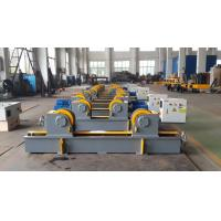 Quality Lead Screw Adjustment 20T Pipe Welding Rotator with Rubber Material Rollers for sale