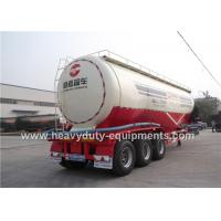 Wholesale 69CBM carbon steel Semi Trailer for powder transportation with power unit optional from china suppliers