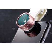 Wholesale Portable Cell Phone Fisheye Lens , Fisheye Wide Angle Macro Lens LX-102 from china suppliers