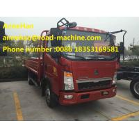 Wholesale HOWO 4 X 2 Light  Cargo Truck 190HP EUROIII can load 6T Economic and Fuel Saving from china suppliers