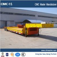 Wholesale 40 feet drop deck lowbed trailer 16 wheeler with 8.25R15 tires from china suppliers