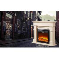 Wholesale Customizable wood / Stainless Steel Modern Flames Electric Fireplace from china suppliers