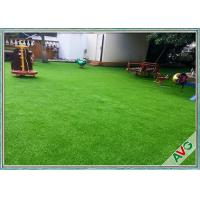 Wholesale Fire Resistance Outdoor Artificial Grass With Monofil PE + Curled PPE Material from china suppliers