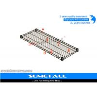 Wholesale Eco Friendly Wire Storage Shelves , Steel Warehouse Industrial Wire Shelving from china suppliers