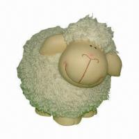 Wholesale Ceramic Sheep Craft, Customized Logos are Welcome, Made of Ceramic and Enamel from china suppliers