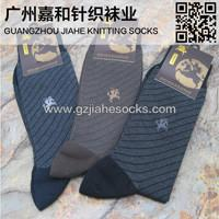 Wholesale Custom Wholesale Striped Mid Calf Cotton Men Socks from china suppliers