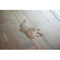Quality Waxed HDF floating wooden laminate floor  waterproof laminate flooring for sale