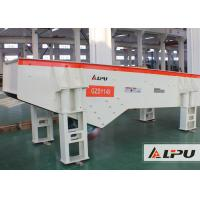 Wholesale Heavy Duty Durable Vibrating Feeder For Pebble , Concrete , Gold , Granite from china suppliers