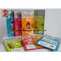 Wholesale Lamination Material Stand Up Zipper Bags , Custom Printed Resealable Pouch Packaging from china suppliers