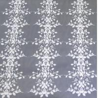 Wholesale Stereoscopic Multi-color Leafy Pattern Embroidery Lace Fabric for garment from china suppliers