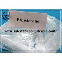 Wholesale Ethisterone CAS 434-03-7 Progestogen Steroid Hormones For the androgen receptor from china suppliers