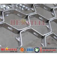Buy cheap Offset Hexmesh,Hexsteel with Lance,Clinch,HEX Mesh,Hexmetal Refractory Anchor from wholesalers