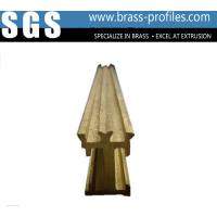 Wholesale Expert Shining Golden Windows And Doors Copper Alloy Profiles from china suppliers