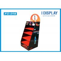 Quality Lipstick Foldable Makeup Retail Display , 4 Tiers Custom Cardboard Display Stands for sale