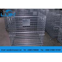 Wholesale AS4084 Steel Wire Mesh Cages Corrosion Protection Material Foldable Type from china suppliers