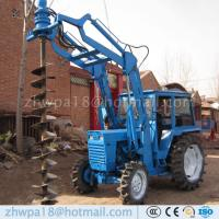 Wholesale Easy to operate Auger Drilling Machine Tractor DIRT DRILLS from china suppliers