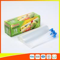 Wholesale Small Recycled Transparent Plastic Airtight Food Storage Bags With Slider Zipper from china suppliers