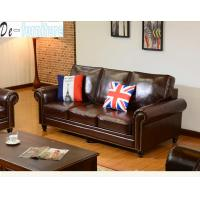 Quality 8001# modern genuine leather sofa for living room furniture and office furniture for sale