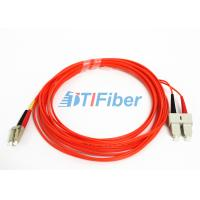 Wholesale OM2 Fibre Optic Patch Leads / SC - LC Patch Cord Telecommunication from china suppliers