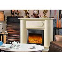 Wholesale Classical Living Room Decorative LED Electric Fireplace Heater Remote Control from china suppliers