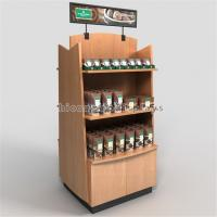 Wholesale Wood Display Stand Double Way Wood Handmade Merchandising Chocolate Display Rack from china suppliers