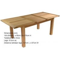 Buy cheap oak wood table from wholesalers