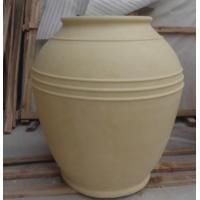 Wholesale Customized design cast stone large garden carved pots for sale from china suppliers