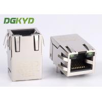 Wholesale 100Mb single port 8 pin modular jack rj45 ethernet connector with isolation transormer from china suppliers