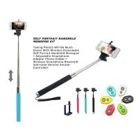 Wholesale 3in1 Handheld Monopod kit Tripod With Shutter Release For mobile phone Android/iPhone from china suppliers