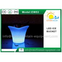 Wholesale Recharged Light Up LED Ice Bucket , IP68 PE LED Champagne Bucket For Bars from china suppliers