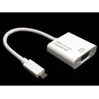 Wholesale Black white New Design Super Speed USB Tyep C TO VGA,DVI, DP Adapter converter cable from china suppliers