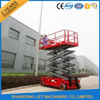 Wholesale Battery Powered Self Propelled Elevating Work Platforms 300kg / 1000kg Load Capacity from china suppliers